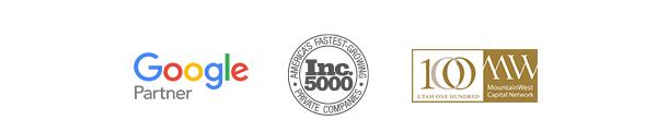 Google Partner, Inc 5000, MW100
