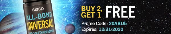 Buy 2, Get 1 FREEPromo Code: 20ABU5Expires: 12/31/2020