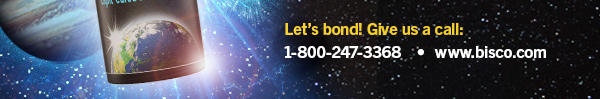 Let's bond! Give us a call: 1-800-247-3368 www.bisco.com