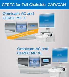 CEREC for full chairside CAD/CAM