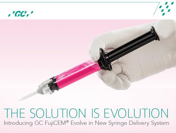 FujiCEM® Evolve cover image for September Dental Ecomonics eBlast