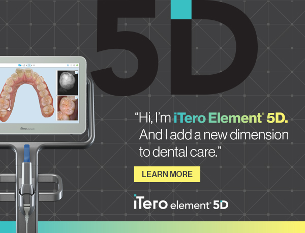 Hi,I'm iTero Element 5D. And I add a new dimension to dental care.