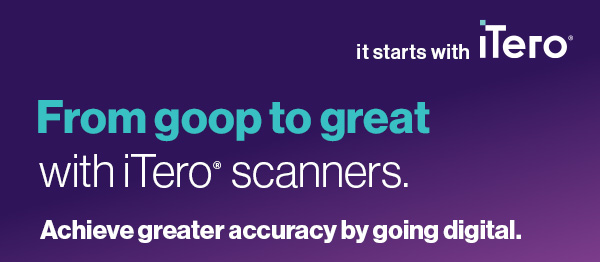 From goop to great with iTero. Achieve greater accuracy by going digital.